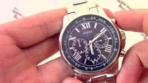 <b>Часы Guess</b> W0379G3 - видео обзор от PresidentWatches.Ru ...