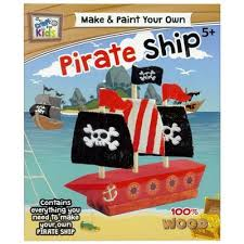 Craft For Kids - Make And Paint Your Own Pirate Ship | The Nile ...