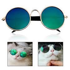 Xrten Portable Pet Metal <b>Sunglasses</b>, <b>Fashion Pet Goggles</b> for Cats ...