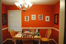 room paint red: image of orange paint ideas dining room