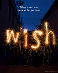 How to <b>write</b> with sparklers: An easy July 4th Party Idea - Think.Make ...