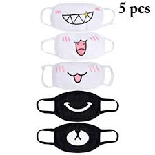 Buy Aniwon Mouth Mask <b>Cartoon</b> Anti Dust Cotton <b>Face Mask</b> Facial ...