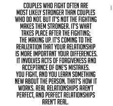 No such thing as perfect relationship | Couple Quotes/memes/ stuff ... via Relatably.com