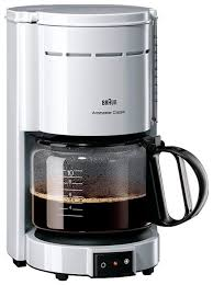 Купить <b>Кофеварка Braun KF</b> 47 белый по низкой цене с ...
