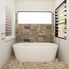 natural stone bathroom remodel modern glass