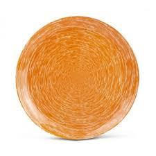 Обеденная тарелка 26см <b>Luminarc Brush Mania</b> Orange P1401 ...