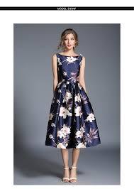 ARiby <b>Women Summer</b> Printed Dress <b>Elegant</b> Maxi Ball Dress <b>2019</b> ...