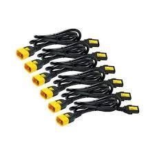 <b>APC</b> AP8702S-NA <b>10A Power Cord</b> Kit Locking C13 to C14 0.6m ...