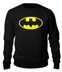 """<b>Свитшот</b> унисекс хлопковый """"<b>Бэтмен</b>"""" #2198204 от Ti - Joy - <b>Printio</b>"""