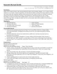professional broadcast service director templates to showcase your resume templates broadcast service director