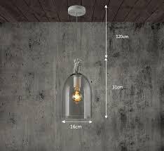 AMZH New <b>Nordic loft</b> Retro <b>Glass</b> Pendant- Buy Online in Sri Lanka ...