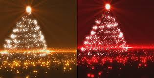 Image result for Red Christmas tree