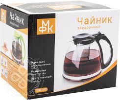 Купить <b>Чайник заварочный</b> МФК-Профит с фильтром <b>1.3л</b> в ...