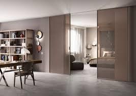 Soffitto In Legno Grigio : Eleganti cristalli decorati per le porte scorrevoli scenario di