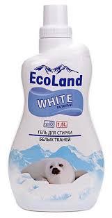 <b>Гель</b> для <b>стирки EcoLand</b> White для белых тканей — купить по ...