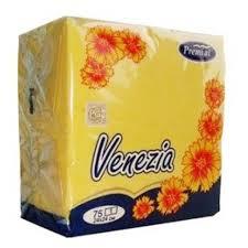 <b>Premial Venezia Салфетки декоративные</b> однослойные цветные ...