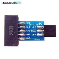 <b>5PCS 10Pin To</b> 6PiN Convert To Standard 10 Pin To 6 Pin Adapter ...