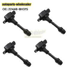 Car & Truck <b>Ignition</b> Systems HITACHI <b>Ignition</b> Coils <b>4 piece</b> 22448 ...