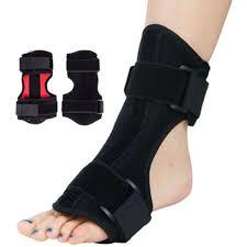 <b>Mayitr 1 Set</b> Adjustable Foot Drop Orthosis Aluminum Ankle Plantar ...