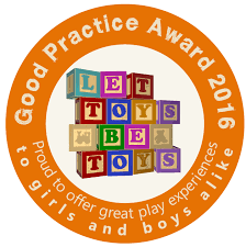 let toys be toys toymark good practice award let toys be toys as well as challenging gender stereotyped toy marketing let toys be toys is also keen to recognise shops and websites that are displaying toys and books in