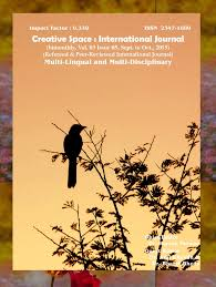 creative space international journal image description creative