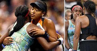 Beautiful US Open moment when defending champ Osaka comforts ...