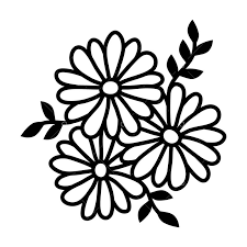 Free <b>Flower Pattern</b> SVG Cut File Graphic Vector - Stock by Pixlr