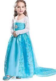 FREEFLY Kids <b>Girls</b> Frozen Princess Dress <b>Cosplay Christmas</b> ...