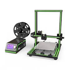 Anet E10 <b>Aluminum</b> Frame Multi-language 3D <b>Printer</b> DIY Kit ...