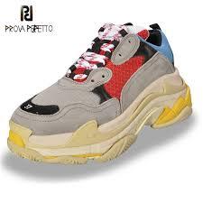 <b>Prova Perfetto</b> 2018 Sneakers <b>Women</b> Spell Color Platform Shoes ...