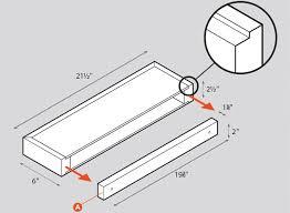 build a box build a shelf build floating shelves