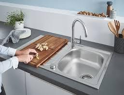 Комплект <b>Grohe</b> Bau 31562SD0 Мойка <b>кухонная K200</b> 31552SD0 ...