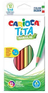 <b>Carioca набор цветных карандашей</b> Tita 12 цветов (42786 ...