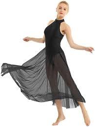 inlzdz Lyrical <b>Womens</b> Halter Flowy <b>Dress</b> Modern Contemporary ...