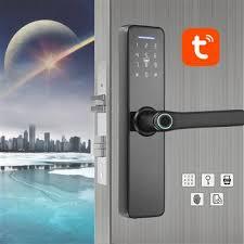 WAFU tuya WIFI <b>Fingerprint</b> Indoor Lock <b>Smart Fingerprint</b> Password ...
