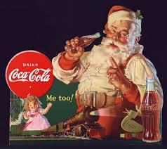 Risultati immagini per babbo natale coca cola 1931