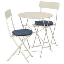 Купить Стол и 2 складных стула для сада САЛЬТХОЛЬМЕН ...