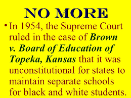 「Brown v. Board of Education of Topeka.」の画像検索結果