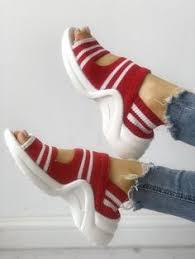 <b>QIUBOSS Women</b> Sandals summer platform sandals wedge ...