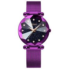 <b>CIVO Fashion Luxury</b> Ladies Crystal Watch Waterproof Rose Gold ...