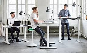 bekant sit and stand desk ikea galant office planner decoration tips