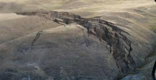 Image result for yellowstone landslide 2015
