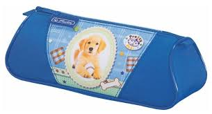 <b>Herlitz Пенал-косметичка Triangular Pretty</b> Pets Dog (11075355 ...