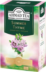 <b>Чай</b> черный <b>AHMAD TEA Summer</b> thyme с чабрецом байховый ...