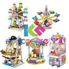 2018 new <b>LOZ Mini Blocks Amusement</b> Park Series Corsair Ferris ...