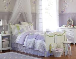 Pottery Barn Girls Bedroom Adorable Purple Bedroom Design With Wooden Floor And White