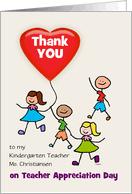 Kindergarten Teacher Appreciation Day Cards from Greeting Card ... via Relatably.com