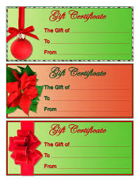 printable christmas gift certificate shopgrat example of it