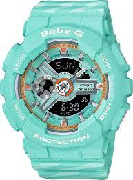Наручные <b>часы Casio</b> Baby-G <b>BA</b>-<b>110CH</b>-<b>3A</b> — купить в интернет ...
