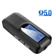 <b>5.0 Bluetooth Adapter Wireless</b> LCD Display USB Bluetooth ...